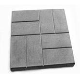 b200 100 40 - Тротуарная плитка (брусчатка) Кирпичик 200х200х60 мм